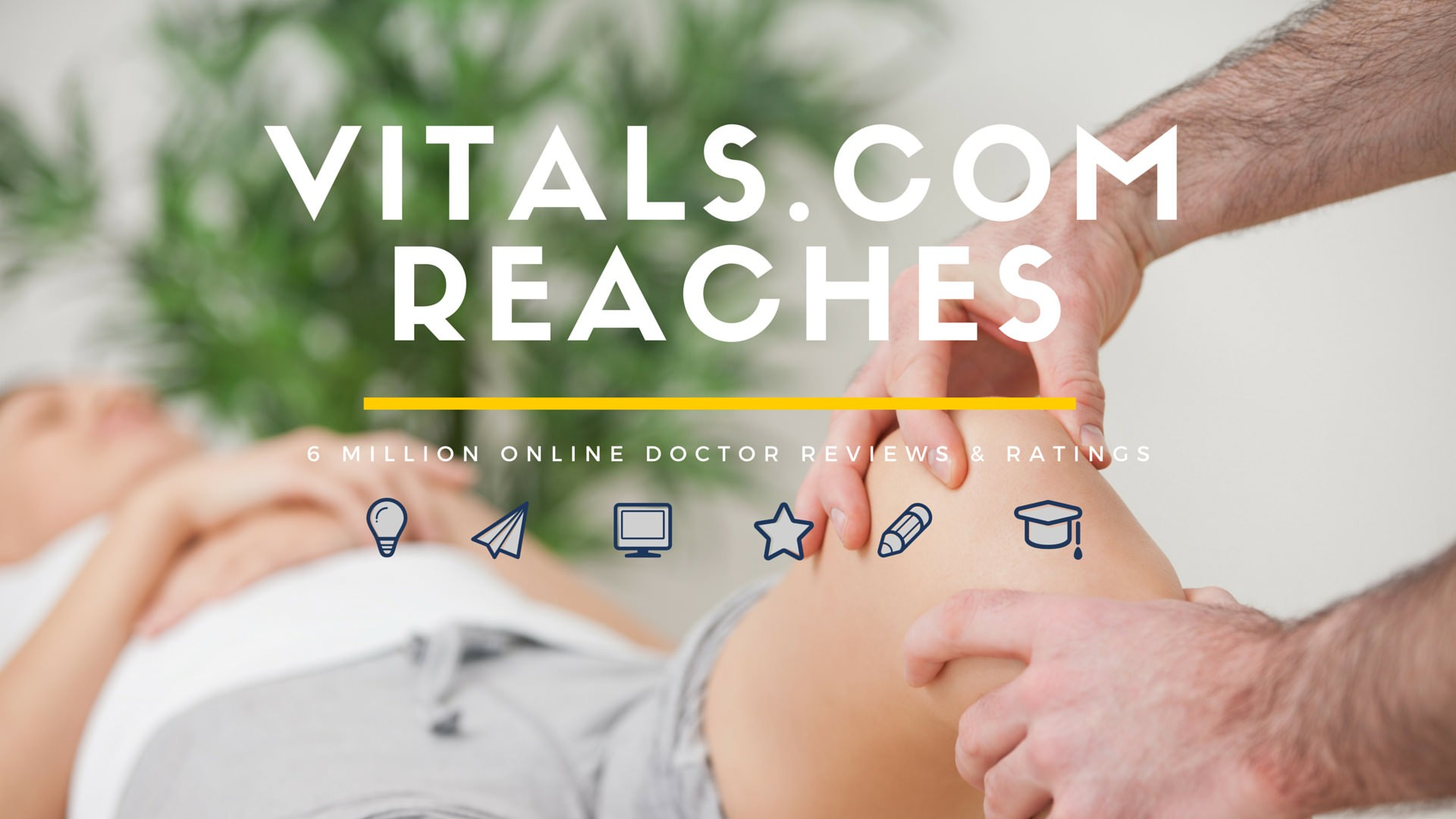 Infographic: Vitals.com reaches 6 Million Online Doctor Reviews & Ratings